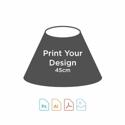 Digital Print for 45cm Coolie Lampshade Making Kit